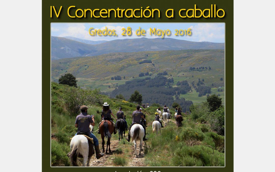 IV Concentración a Caballo en Gredos 28 de mayo 2016