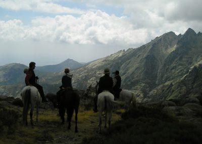 1 jornada gredos a caballo
