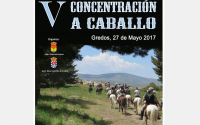V Concentración a Caballo en Gredos 27 de mayo 2017