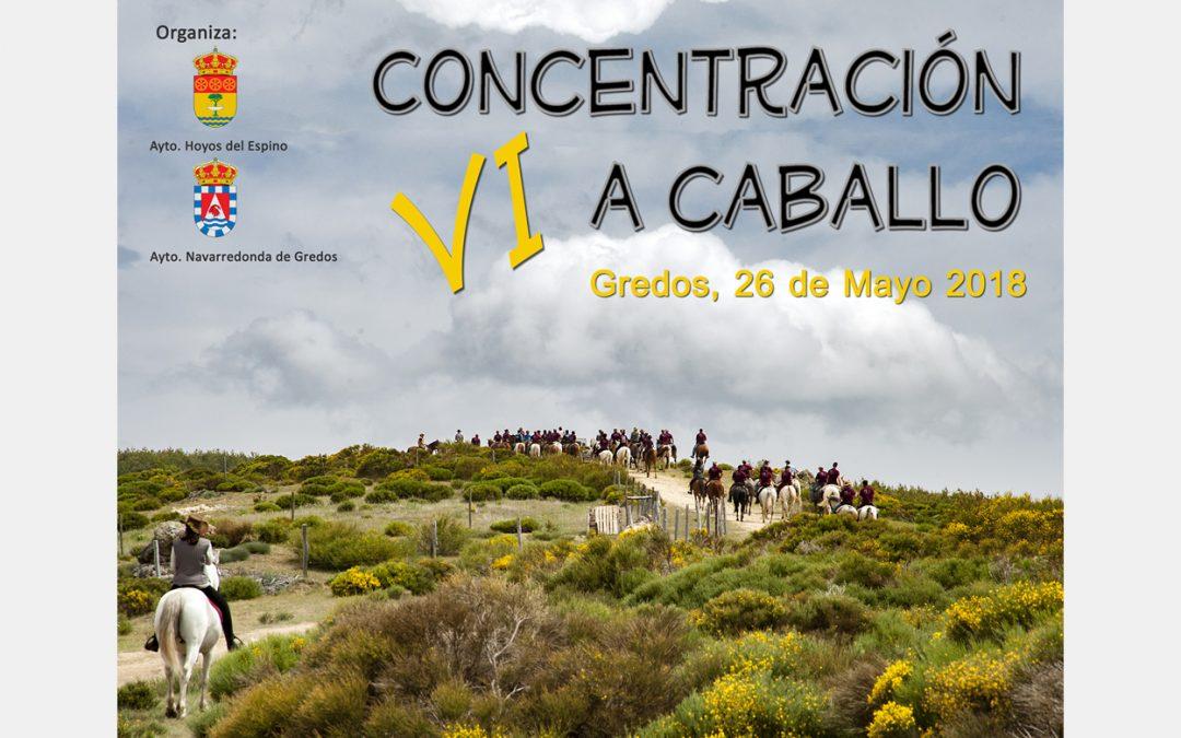 VI Concentración a Caballo en Gredos 26 de mayo 2018